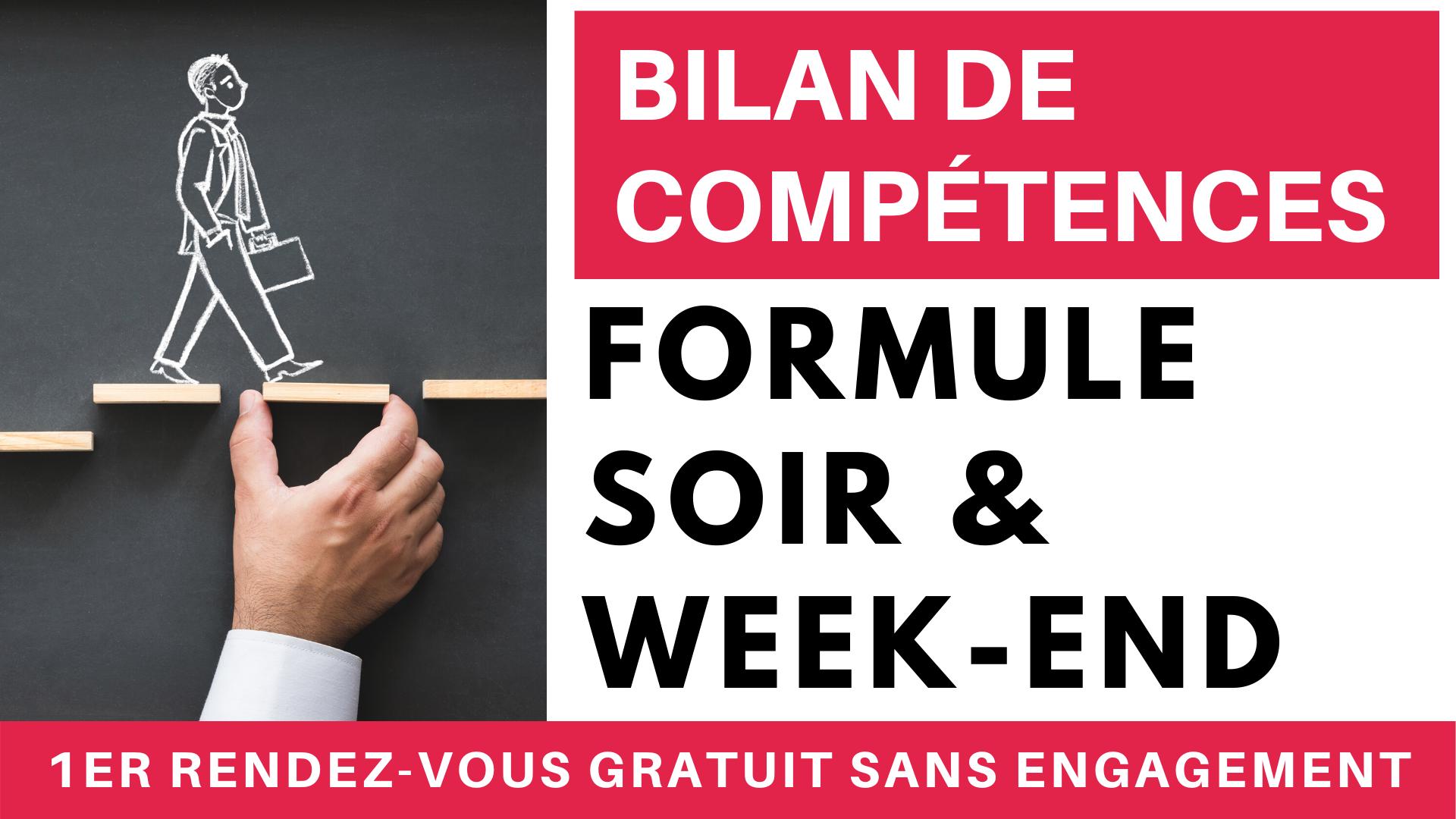Bilan de Compétences Formule Soir & Week-end